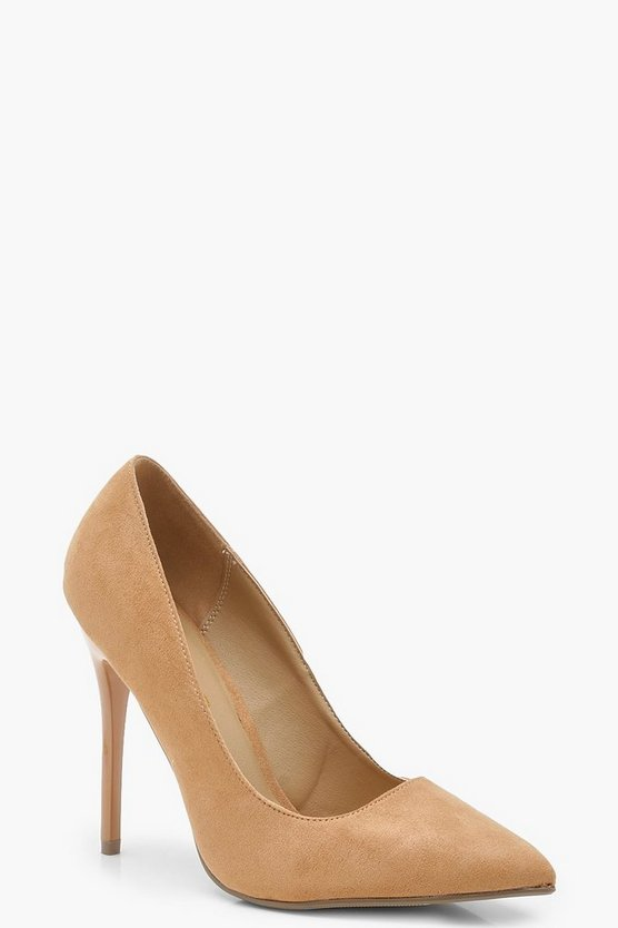 Womens Tan Skin Tone Court Shoes