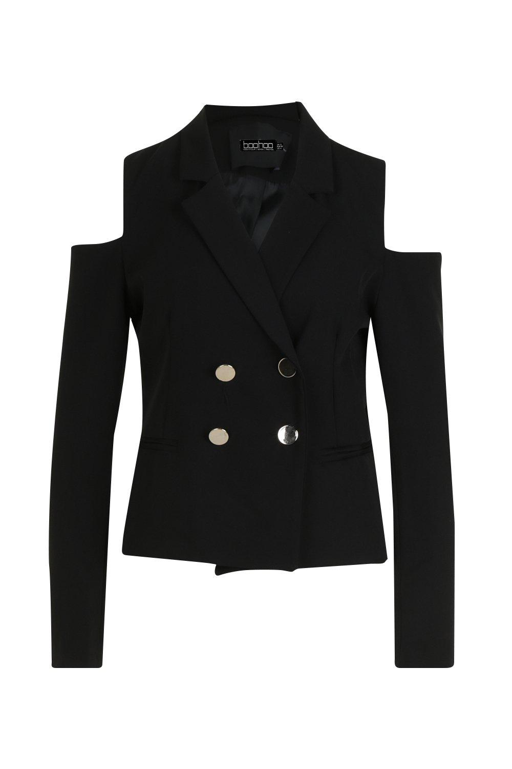 Boxy Shoulder Olivia Blazer black Cold fRgqOv