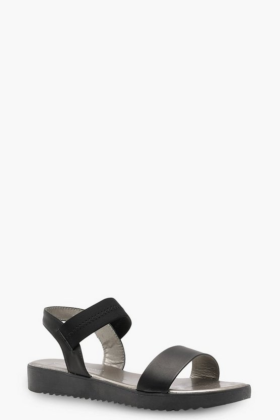 Cleated 2 Strap Sandals