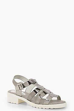 Emma Cleated Fisherman Sandals