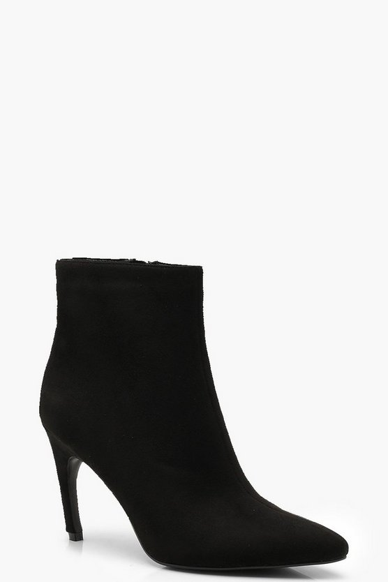 Pointed Toe Shoe Boots