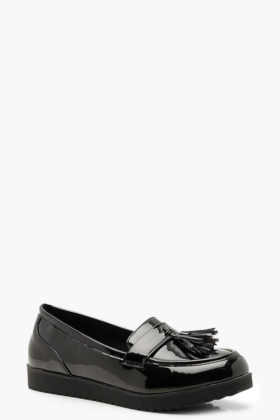 Tassel Cleated Loafers
