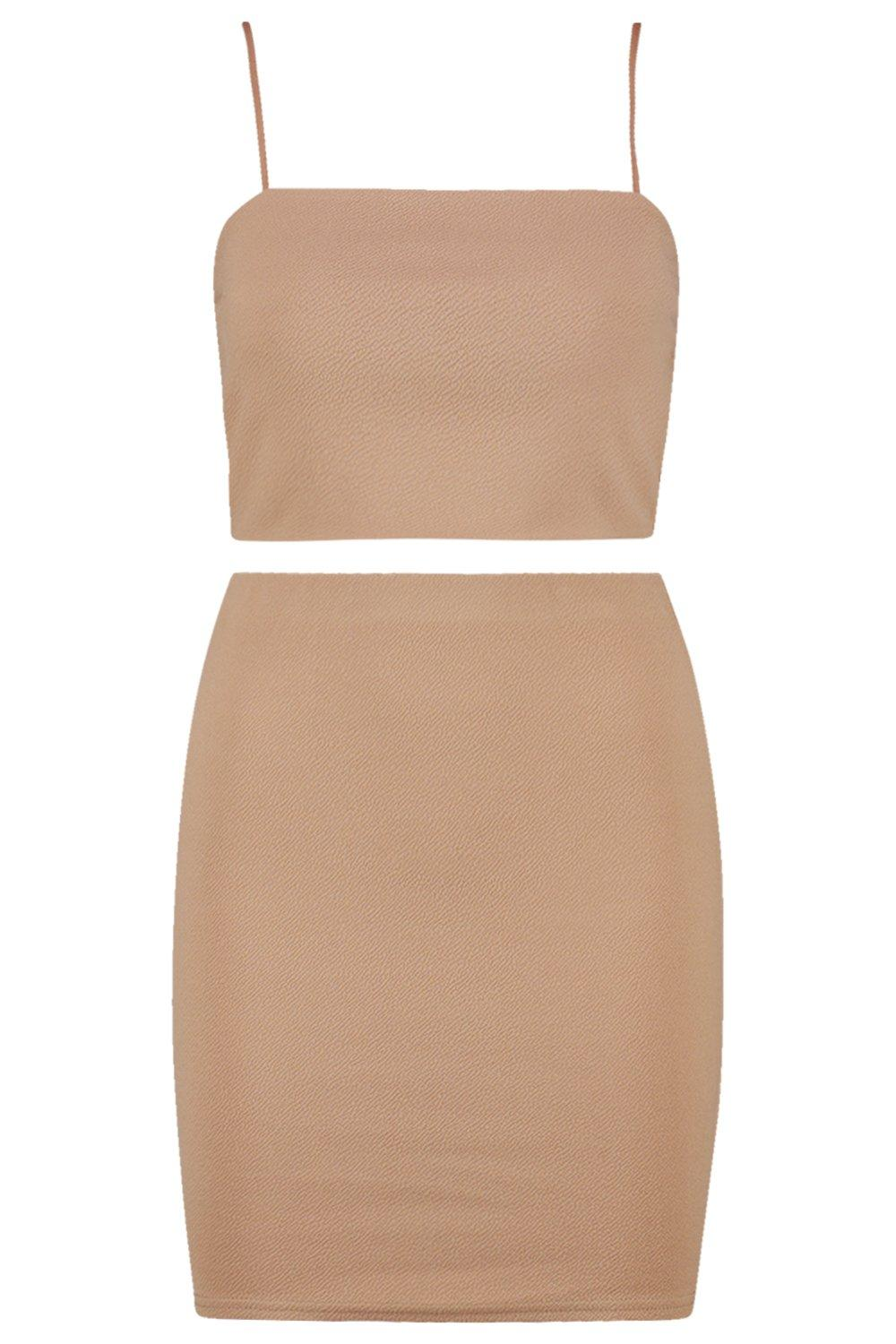 Skirt ord Co Crop camel Strappy Mini amp; Set 1wqtnWUaSW