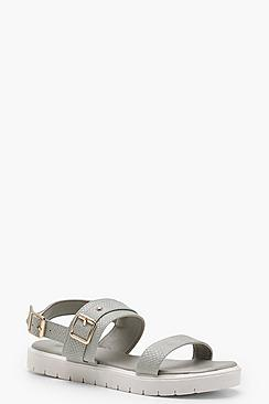 Brooke Buckle Cleated Sandals