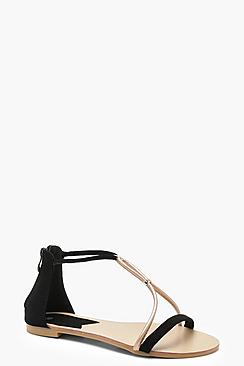 Megan Asymmetric Sandals