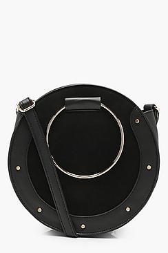 Erin Ring & Stud Round Cross Body Bag