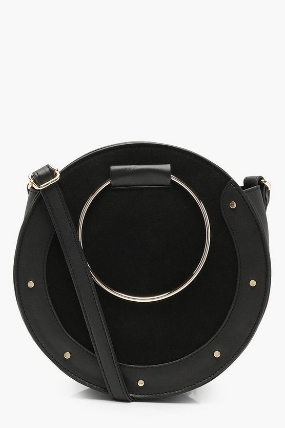 Erin Ring & Stud Round Cross Body Bag