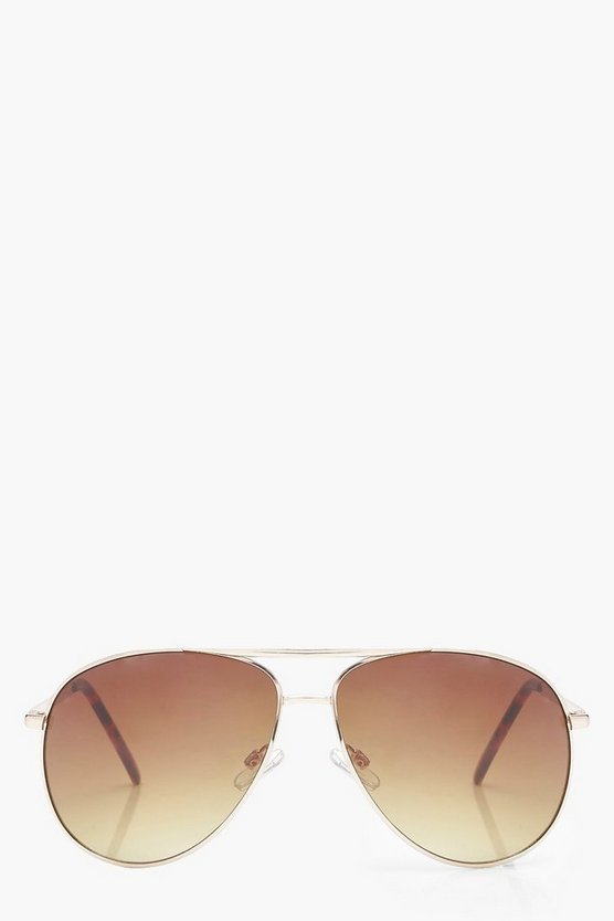 Hattie Brown Lens Aviator Sunglasses
