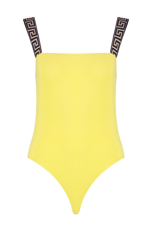 petite Body con detalle amarillo de qppOfndv