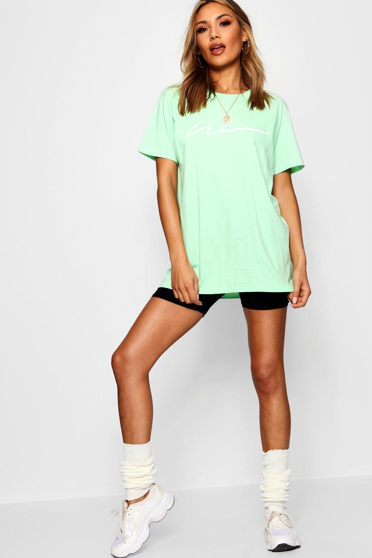 "tonos ""Woman pastel Camiseta en eslogan con UFcwFpq6B"