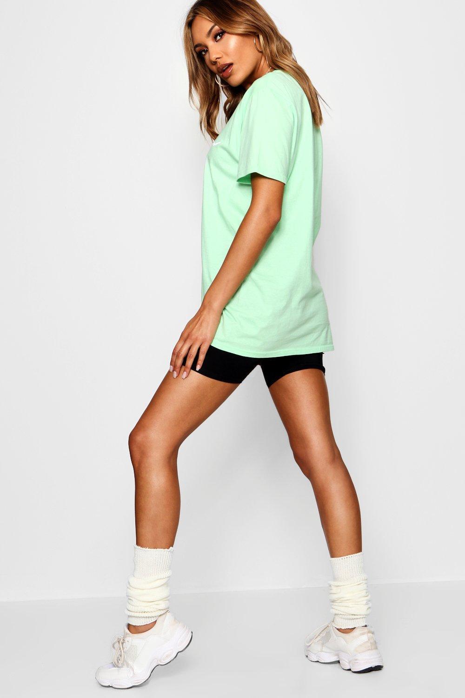 """con en tonos Camiseta pastel eslogan """"Woman OPx0wq"""
