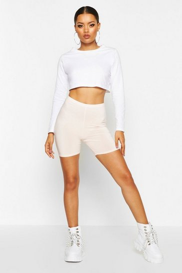 Nude Basic Slinky Cycling Shorts