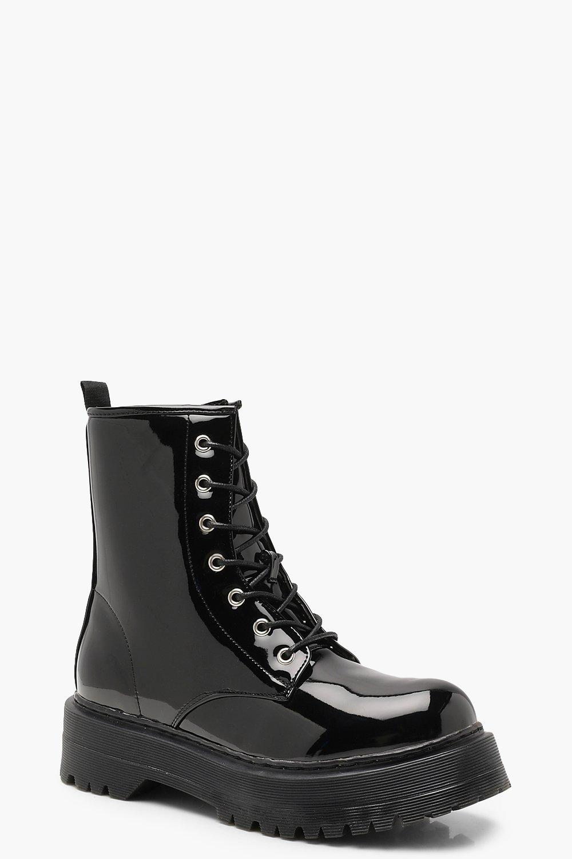 Stivali con lacci spessi   Boohoo