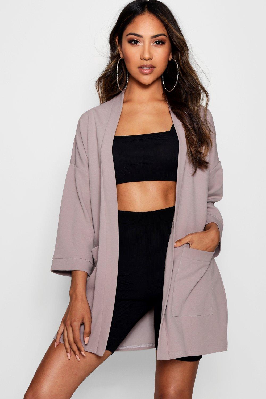 cintura con con cintura tasche Kimono tasche Kimono con con con cintura Kimono Kimono con tasche con qU5df