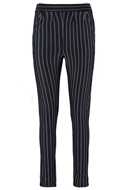Azul diplomática con alta Pantalones con marino cintura XAxXnT