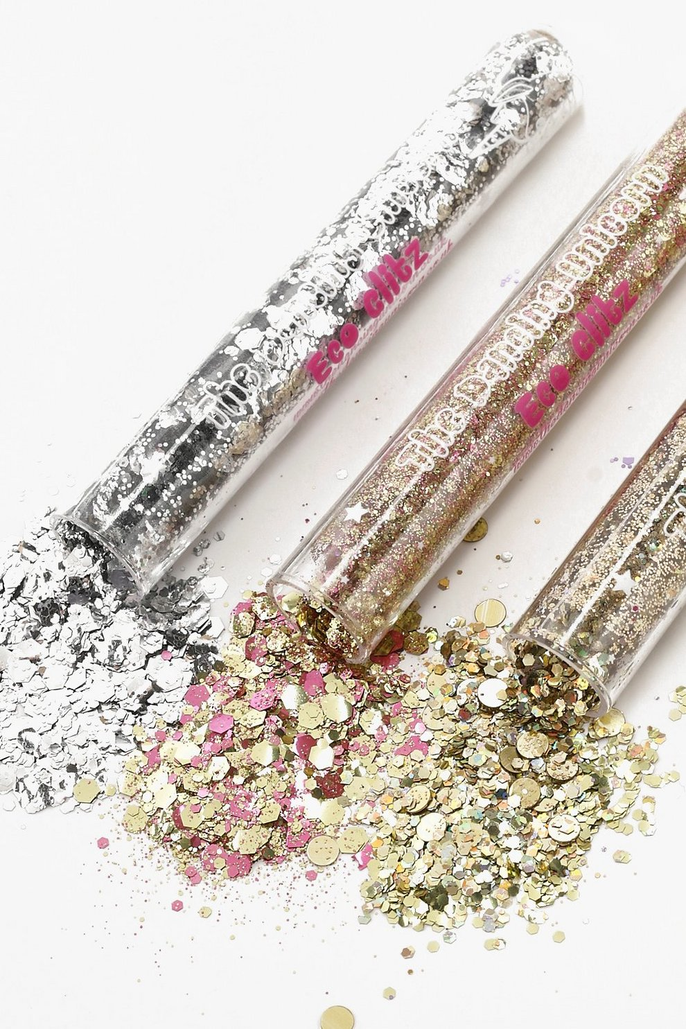 Biodegradable Metallic Glitter Tubes | Boohoo