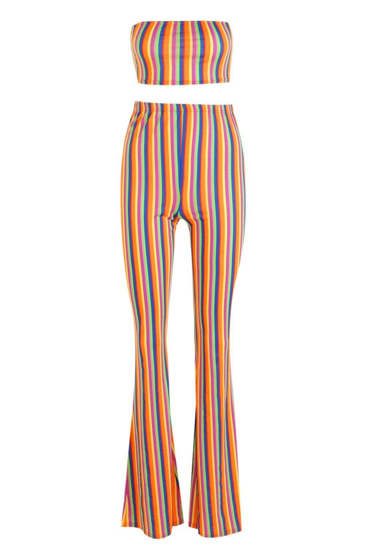 arco de y Conjunto pantalones naranja palabra acampanados de 7YPqwAqZ