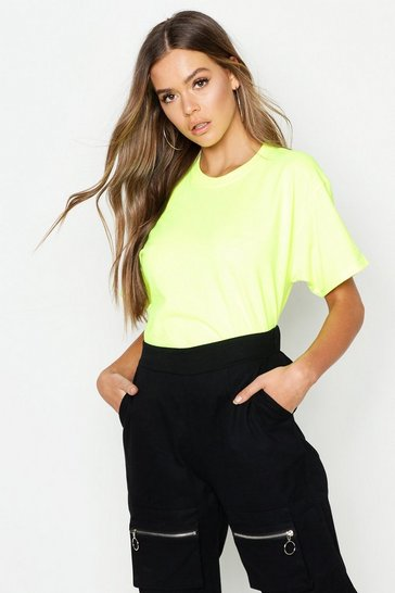 Womens Neon-lime Neon T-Shirt
