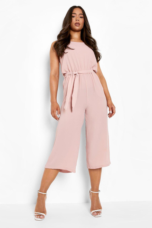 pálido falda tejida sin pantalón estilo rosa Mono mangas BqFZ7Z