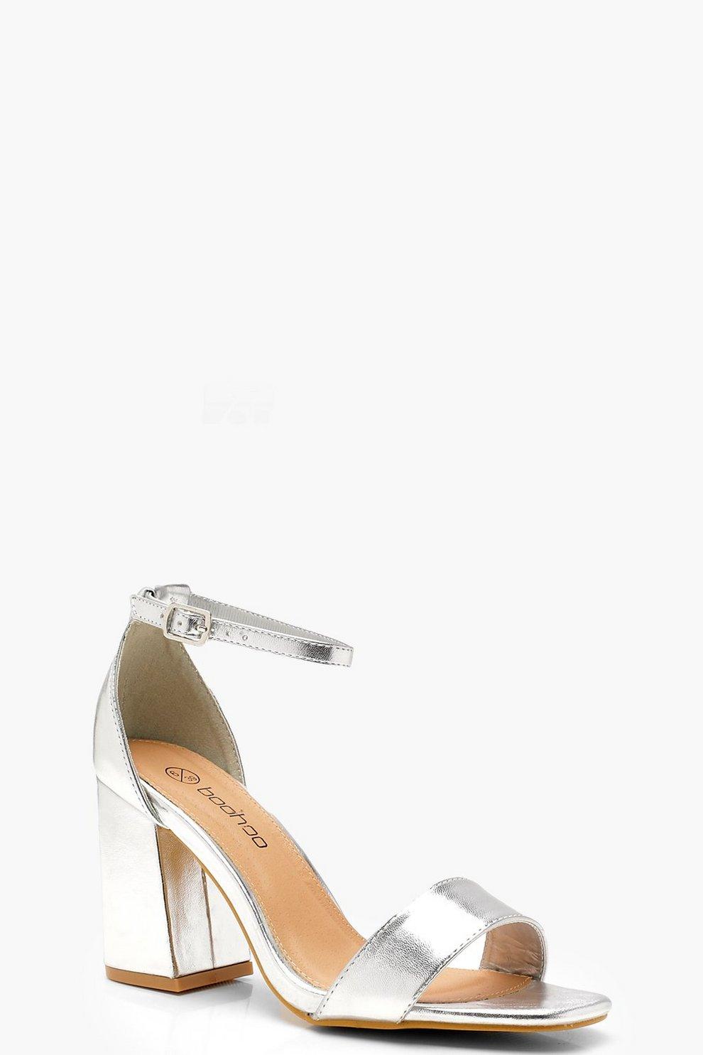 206066a233d Extra Wide Fit Square Toe Block Heels