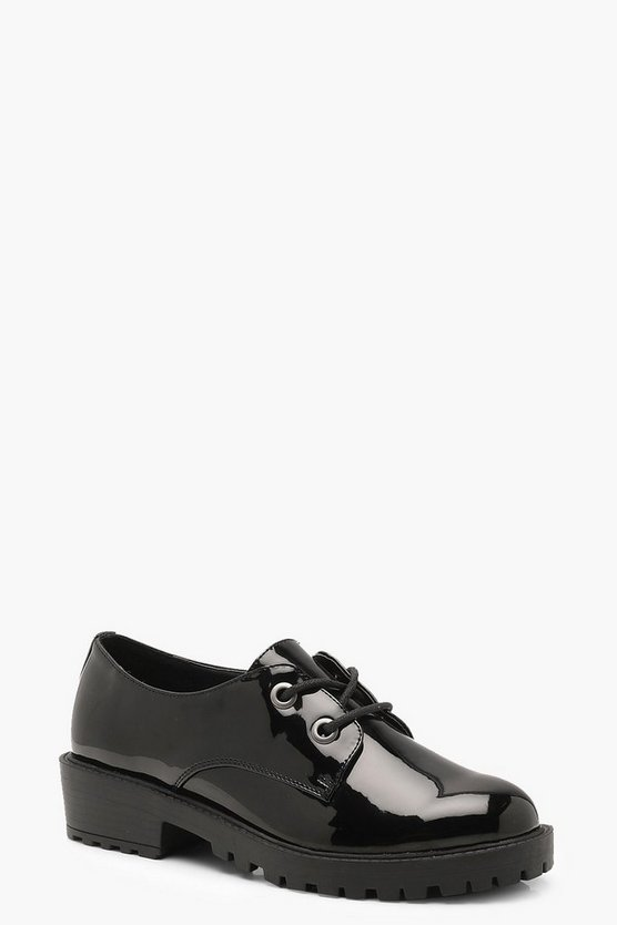 Chunky Lace Up Brogues