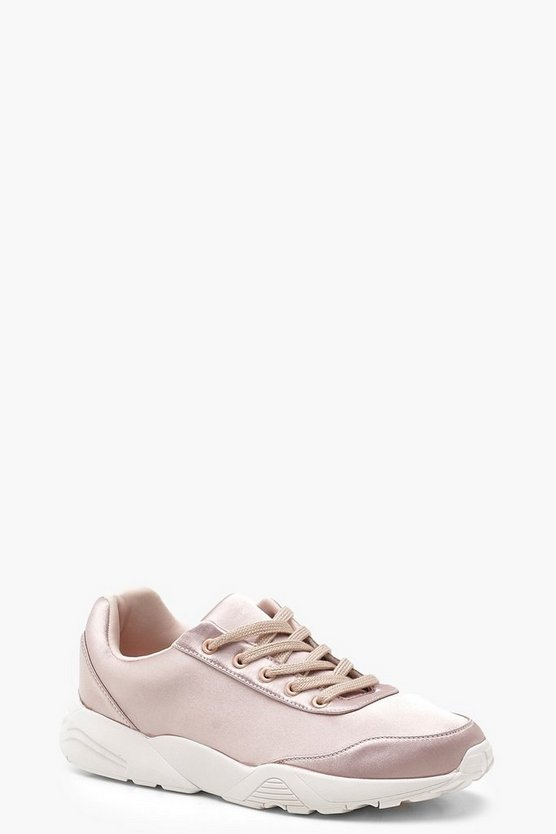 Blush Chunky Sole Trainers