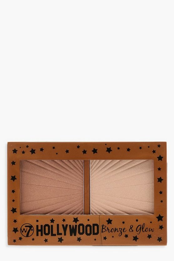 W7 Hollywood Bronze & Glanz-Palette
