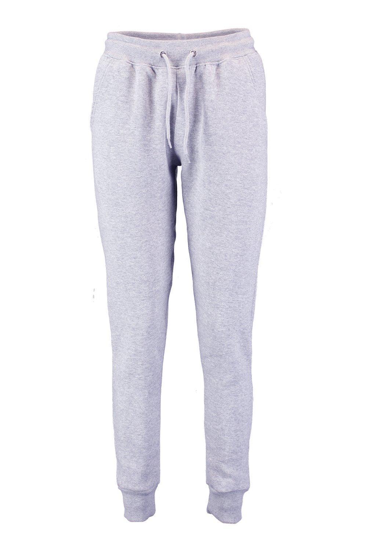 talle marga Pantalones correr básicos bajo de gris de 4O4YSwqI