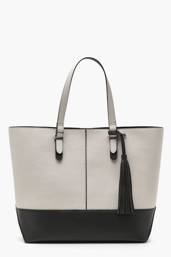 Mono Colour Block Day Bag