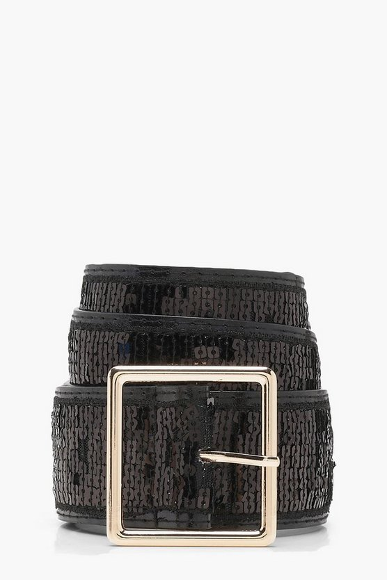 Sequin Festival Boyfriend Belt