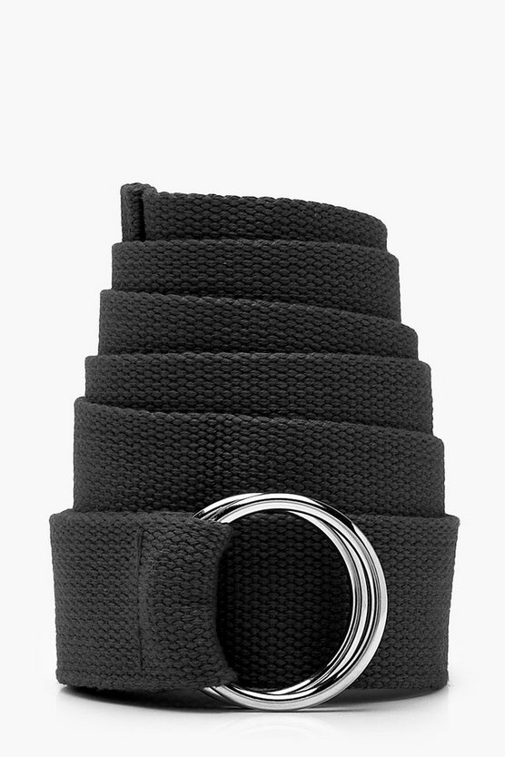 O Ring Longline Canvas Belt