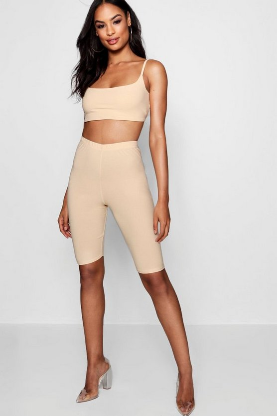 Womens Open Cycle Short and Top Co-ord
