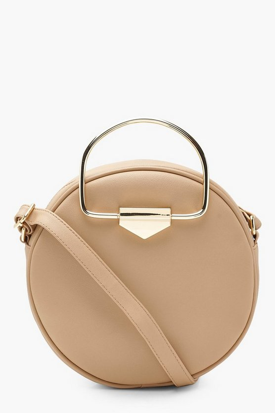 Lottie D Ring Round Cross Body Bag