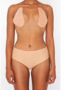 Womens Beige Perky Pear Breast Lift & Shape Tape