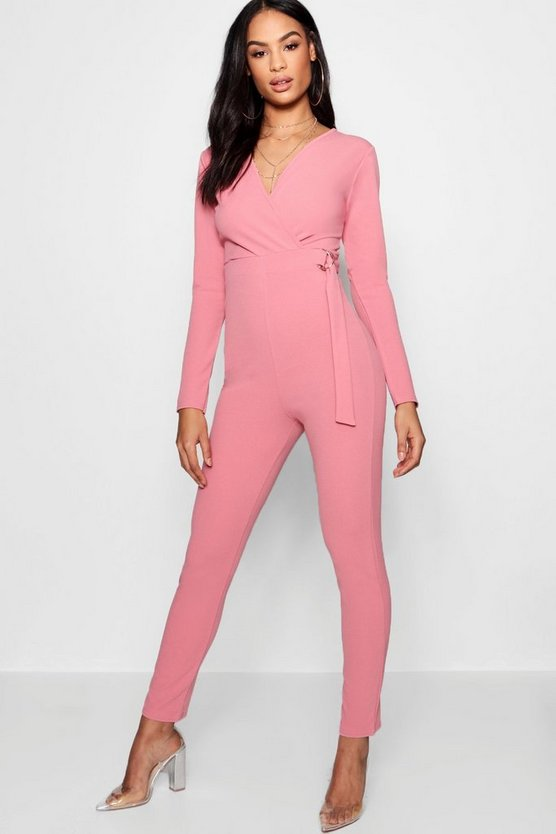 D-Ring Wrap Jumpsuit