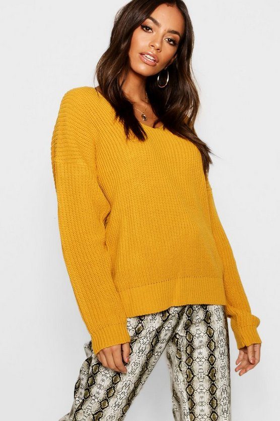 Crop Twist Jumper