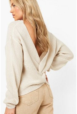 Stone Crop Twist Jumper
