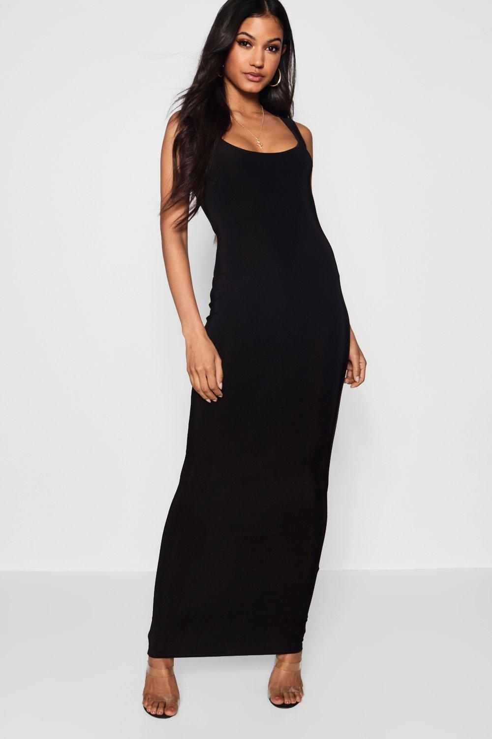 68bd9d4afe Slinky Square Neck Maxi Dress. Hover to zoom