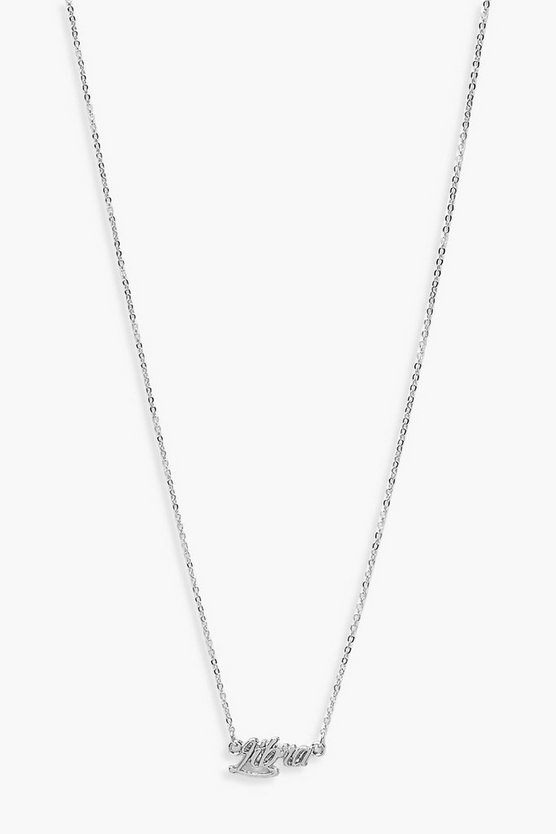 Libra Star Sign Necklace