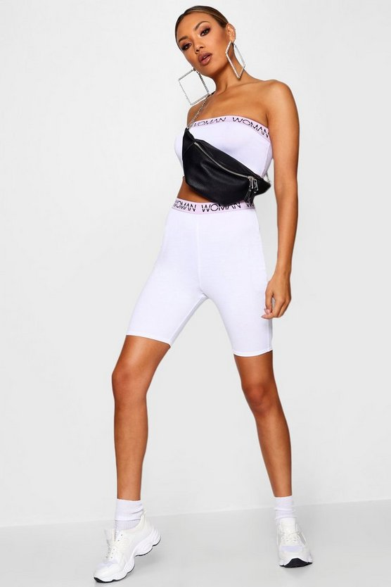 Lucy Woman Sports Tape Cycling Short