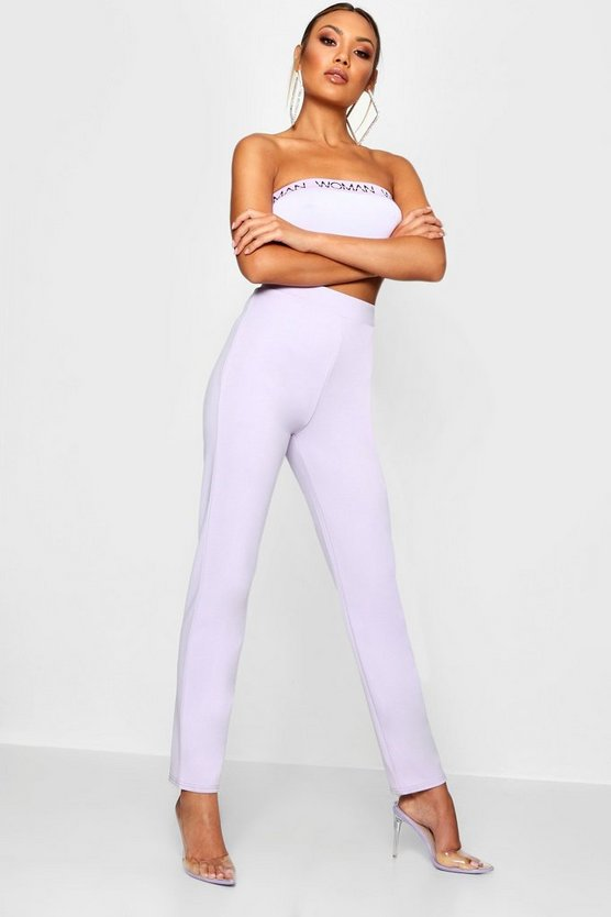Pastel High Waisted Trouser
