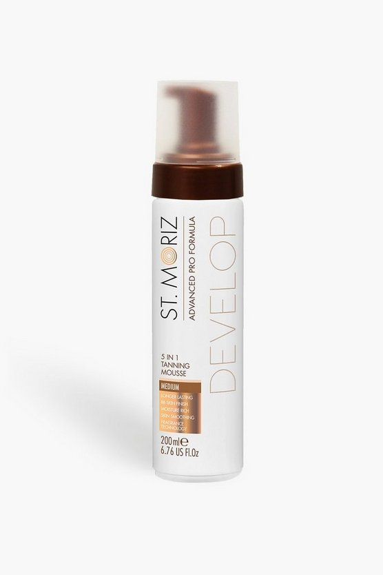 Womens Medium brown St Moriz Pro 5 in 1 Tan Mousse-Medium