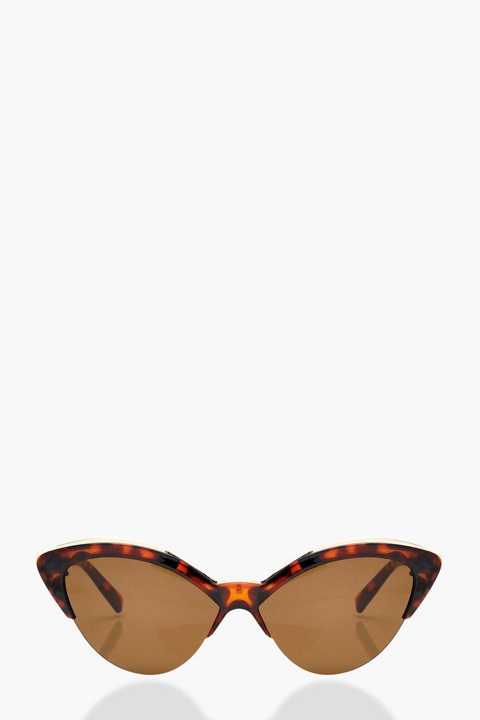 ff06f8c7f5846 Tortoiseshell Cat Eye Sunglasses. Womens Brown Tortoiseshell Cat Eye  Sunglasses. Hover to zoom