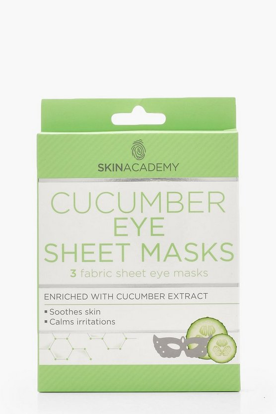 Cucumber Eye Sheet Masks x 3