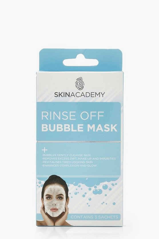 Womens Blue Skin Academy Bubble Mask