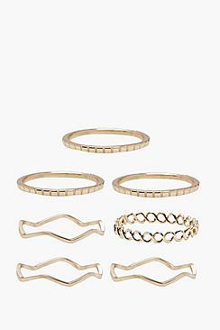 Delicate Rings 7 Pack