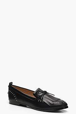 Alice Stud and Tassel Loafers