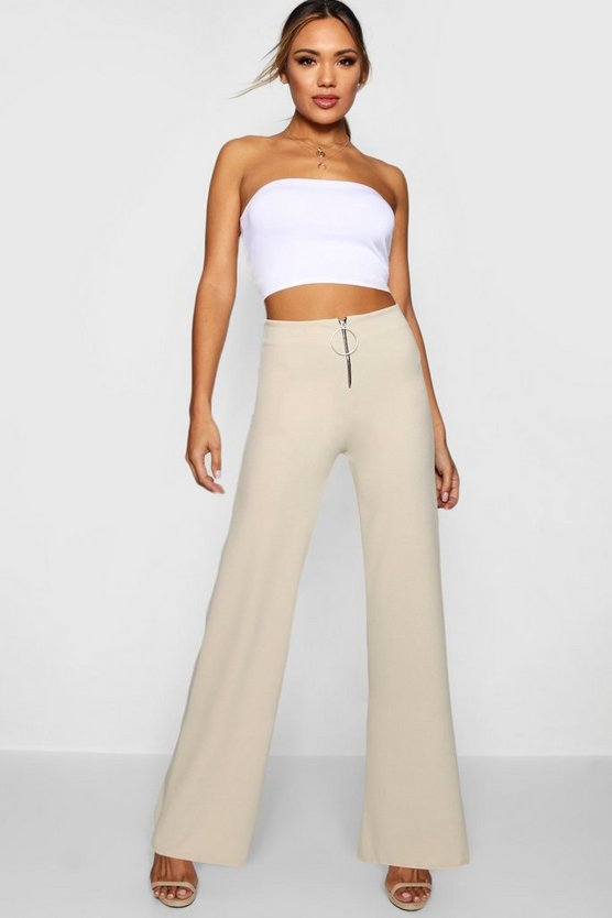 O Ring Wide Leg Trouser