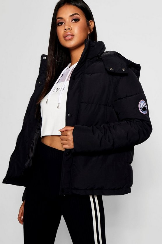 Sporty Padded Jacket