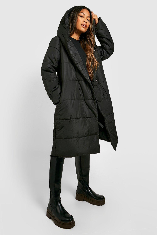 c4caeaba1 Wrap Duvet Coat | Boohoo